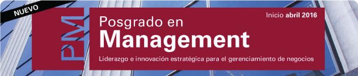Nuevo Posgrado en Management