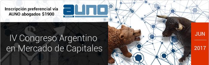 IV Congreso Argentino en Mercado de Capitales